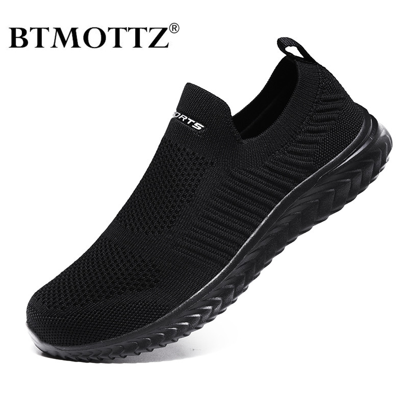 Summer Mesh Men Shoes Lightweight Sneakers Men Fashion Casual Walking Shoes Breathable Designer Mens Loafers Zapatillas Hombre