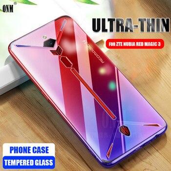 Перейти на Алиэкспресс и купить Чехол для Nubia Red Magic 3 TPU Силиконовый прочный прозрачный мягкий чехол для Nubia Red Magic 3s защитный чехол для задней панели TPU