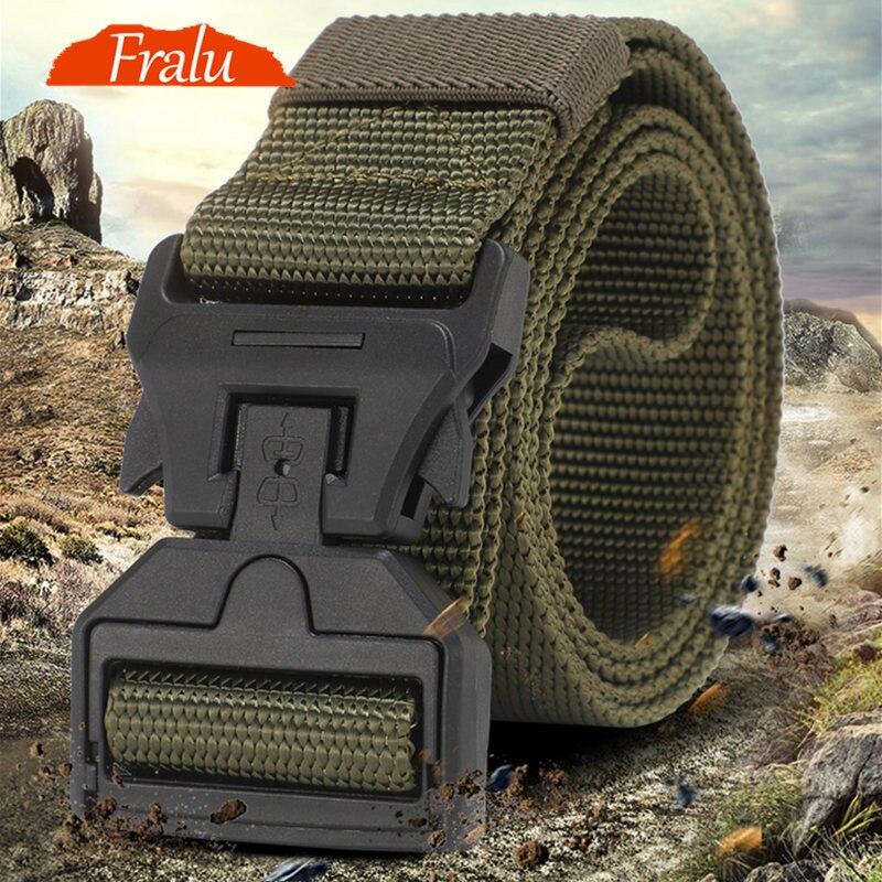 Tactical Belt New Nylon Army Belt Men Molle Military SWAT Combat Belts Knock Off Emergency Survival Belt Tactical Gear Dropship3