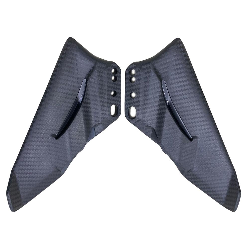 Ninja 400 2018 Motorcycle Winglet Aerodynamic Carbon Color ABS Wing Kit Spoiler For CBR600RR CBR1000RR 2012 2013 2014 2015-2019