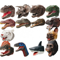 Battle Dinosaur Head Gloves
