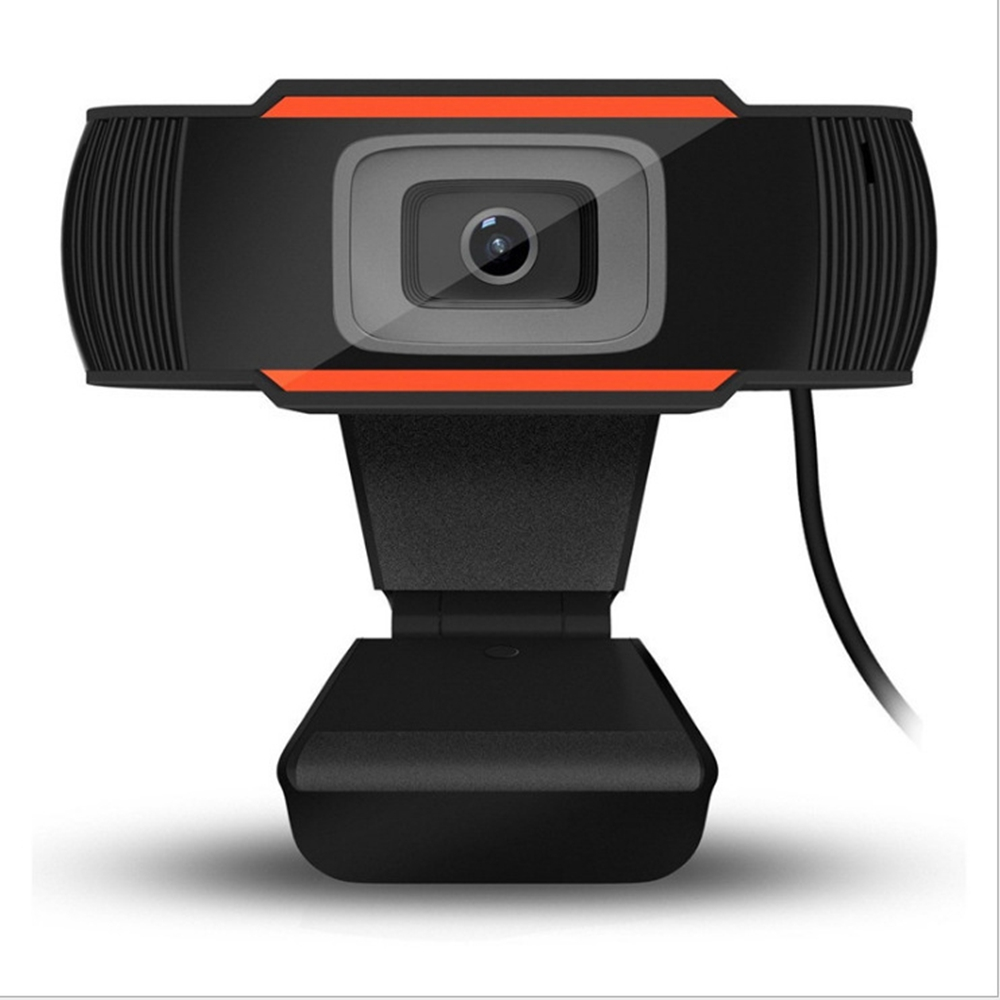 USB Webcam HD 1080P 200 Megapixels USB 2.0 Webcam Camera with MIC Clip-on Video Net Live Broadcast Camera For PC Laptop Camera image