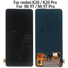 Original 6.39 For Xiaomi Redmi K20 LCD Display Touch Screen Digitizer Assembly For Xiaomi Mi 9T lcd Redmi K20 pro display