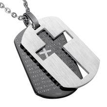 Looker крест Ожерелья для мужчин Подвески христианской ювелирных