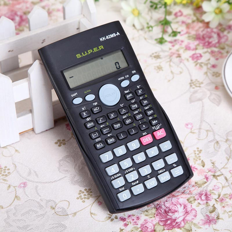 School Engineering Scientific Calculator Stationery Scientific Function Calculator Students Stationary Calculating Too
