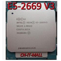 Getrokken E5-2669 V3 Server cpu 2.3G 30M 12Core 24 draad LGA2011-3 Processor