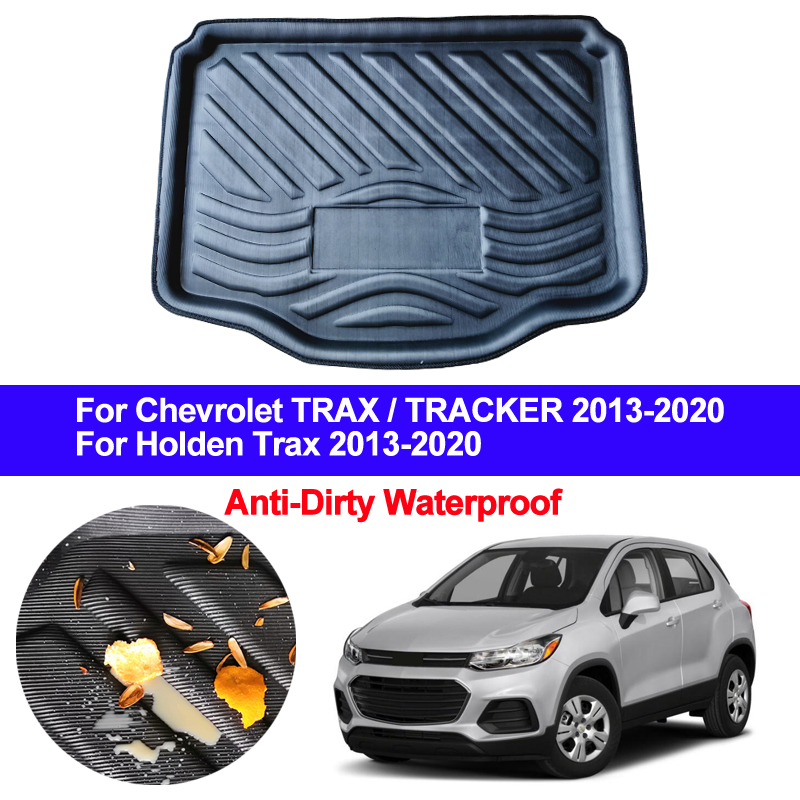 Car Rear Trunk Mat Cargo Luggage Tray Boot Liner Carpet Floor Cape For Chevrolet Chevy Holden TRAX TRACKER 2013 - 2019 2020