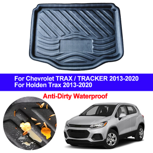 Image 1 - Car Rear Trunk Mat Cargo Luggage Tray Boot Liner Carpet Floor Cape For Chevrolet Chevy Holden TRAX TRACKER 2013   2019 2020