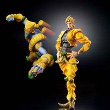 Tronzo Originale Medicos Super Action Statua di JoJo Bizarre Adventure Dio Brando Il Mondo di Azione PVC Figure Modello Statua Giocattoli