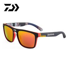 DAIWA 2020 spolaryzowane okulary męskie okulary przeciwsłoneczne do jazdy męskie okulary Camping piesze wycieczki wędkowanie klasyczne okulary UV400 okulary tanie tanio CN (pochodzenie) Okulary przeciwsłoneczne z polaryzacją Fishing Hiking Driving Polarized UV400 Men Women Just one glass no accessories