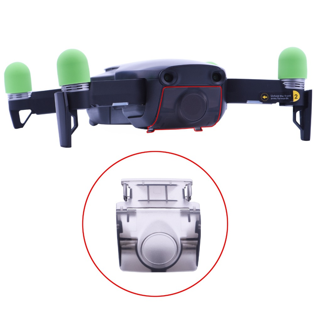 For DJI Mavic AirCamera Protector Cap For DJI Mavic Air Drone Gimbal Stabilizer Lens Cap Cover Guard Drone Accessories