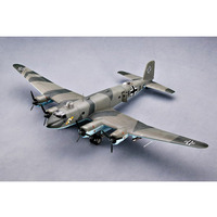 Trumpeter 02814 1/48 Scale Focke Wulf Fw 200C 4 Condor Transport Plane Airplane Aircraft Toy Plastic Assembly Model Kit