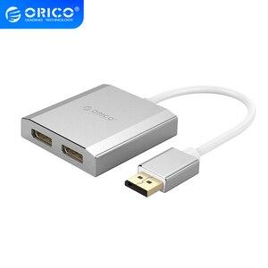 Кабель-адаптер ORICO для ПК, ЖК-дисплей, ноутбука, проектора, HDMI, HD, двойной DP/M/F, HD, адаптер для ПК, проектор, HDMI