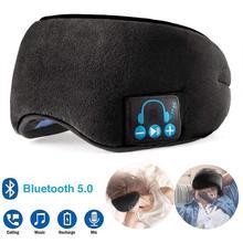 Tai Nghe Không Dây Bluetooth 5.0 Kính Mắt Tai Nghe Âm Thanh Nổi Trả Lời Cuộc Gọi Tai Nghe Chụp Tai Ngủ Tai Nghe Thoáng Khí Thoải Mái Cho Điện Thoại