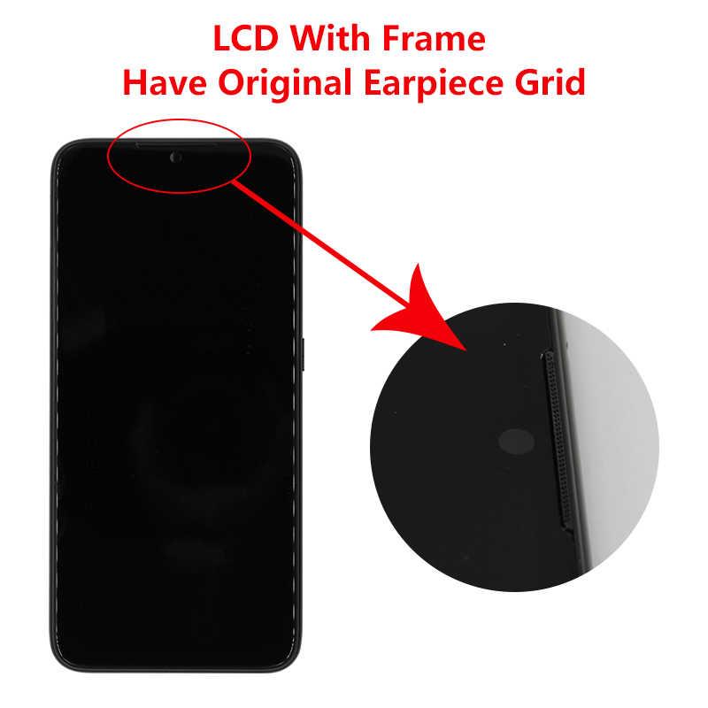 10 Cảm Ứng Ban Đầu Dành Cho Xiaomi Redmi Note 7 Màn Hình Hiển Thị Màn Hình LCD Màn Hình Cảm Ứng Cho Redmi Note 7 Pro Màn Hình LCD Linh Kiện Thay Thế có Khung