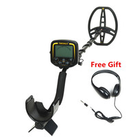 TX 850 Professional Portable Underground Metal Detector LCD Display Gold Finder with Headphone for Gift