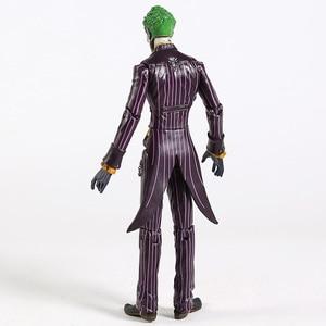 """Image 5 - DC Бэтмен Джокер ПВХ фигурку Коллекционная модель игрушки 7 """"18 см"""