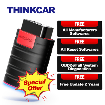 THINKCAR ThinkDiag OBD2 Scanner OBD 2 Code Reader All System Car Diagnostics 15 Reset Think Diag PK X431 Easydiag 3.0 AP200 Golo new thinkcar thinkdiag same as easydiag 3 0 x431 bluetooth adapter update online full system obd2 scanner diagnostic tool