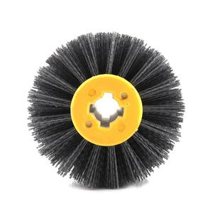 Image 4 - Nylon Abrasive Wire Drum Polishing Wheel Electric Brush for Woodworking Metalworking High Quality