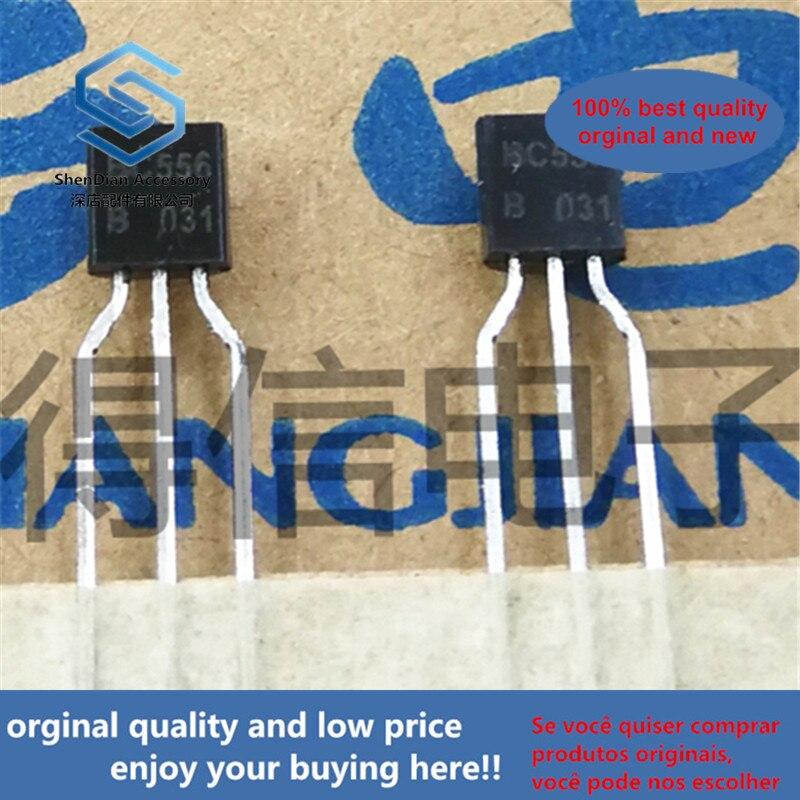 50pcs 100% Orginal New BC556B BC556 B TO-92 Amplifier Transistors(PNP Silicon) Real Photo