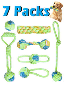 Pet-Dog-Toys Toy-Accessories Toothbrush Dogs-Ball Christmas-Products Chew 7-Pack Small