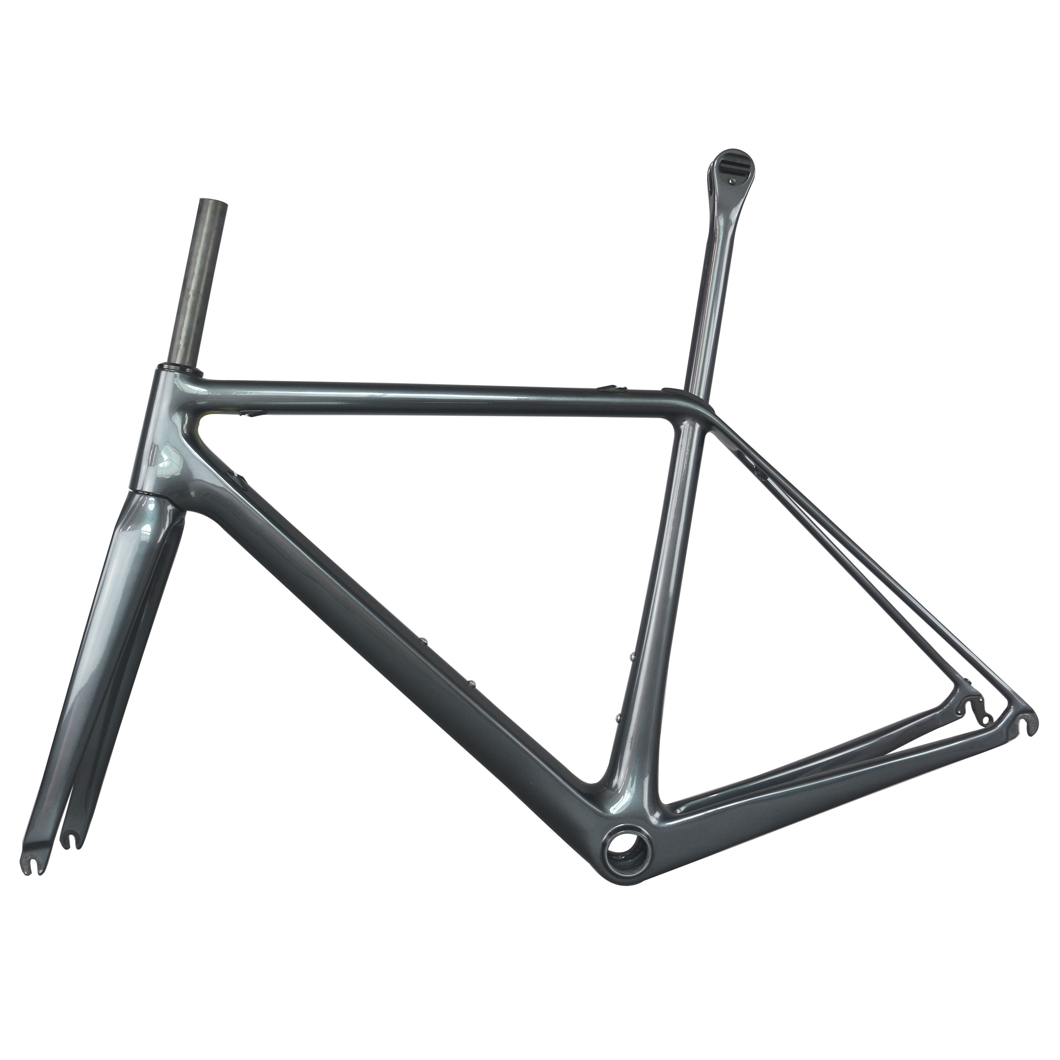 Superlight Road Frame Toray Carbon Fiber  T1000 Road Frame FM609 Custom Paint With  Zero Offset Seatpost  BB86