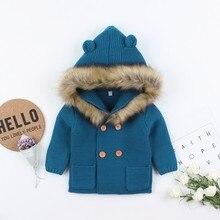 0-24M Children Kids Sweater Jacket Autumn Baby Girl Boy Hood