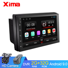 XIMA RAM 2G Car Android 9.0 2 Din Car auto Radio Multimedia Player For Toyota Nissan