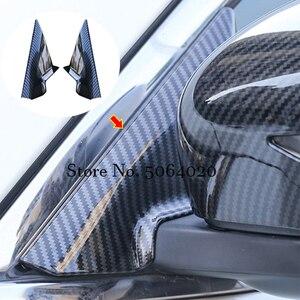 Image 2 - Für Nissan X Trail X trail T32 2014 2019 Zubehör Auto Front A säule Rück Tuning Spiegel halterung Trim Abdeckung Auto Styling