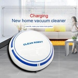 Робот-подметатель с низким уровнем шума, usb зарядка, автоматическая уборочная машина, умный пылесос для ленивых, умный подметальный робот дл...