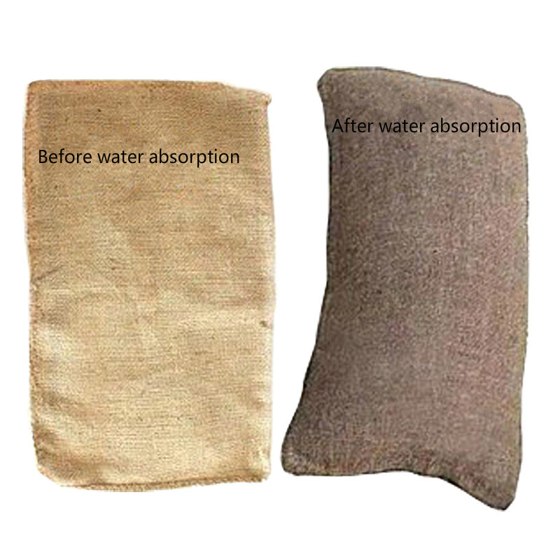 Water-proof And Sand-proof Sacks With Water-absorbing And Expanding Bags For Flood Control And Quick Water-blocking And Water-bl