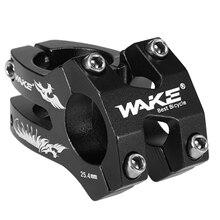 цена на WAKE Aluminium Alloy Bicycle Stem High-strength CNC Machined 22.2/25.4/ 31.8mm Bike Stem MTB Mountain Road Handlebar Stem