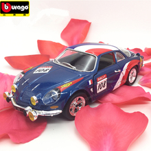 Bburago 1:24 Renault Alpine A110 alloy car model simulation decoration collection gift toy