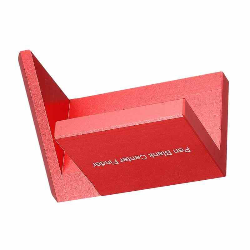 Szliyands Woodworking Pen Center Finder,45 Degree Aluminium Alloy ...