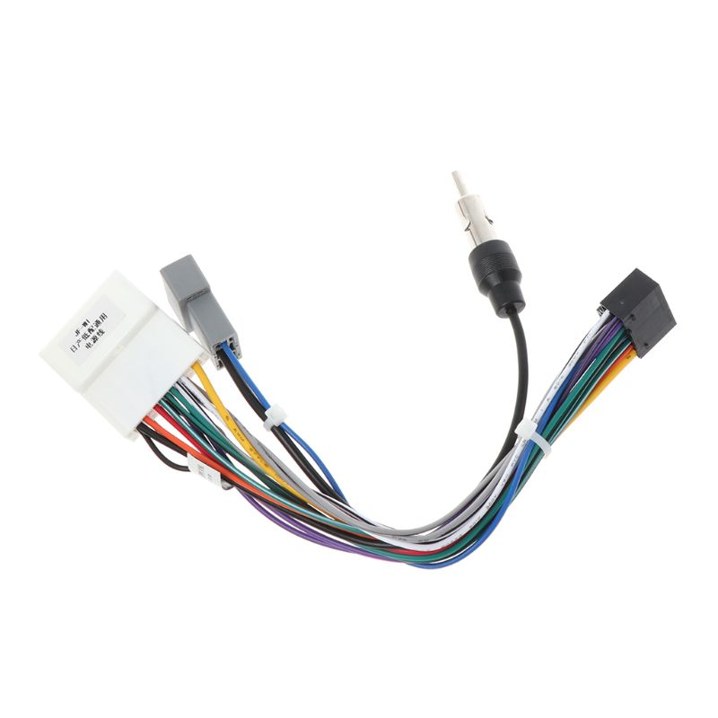 Unit Wiring Harness Adapter 16pin Car Stereo Radio Power Connector 2049 Fits For 16pin Nissan OEM Car Radio Anti-interference