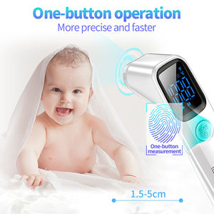 Image 3 - LIERDOCT Baby Forehead Thermometer Infrared Digital LED Body Temperature Meter Non contact Thermometer Gun Children Adult Fever