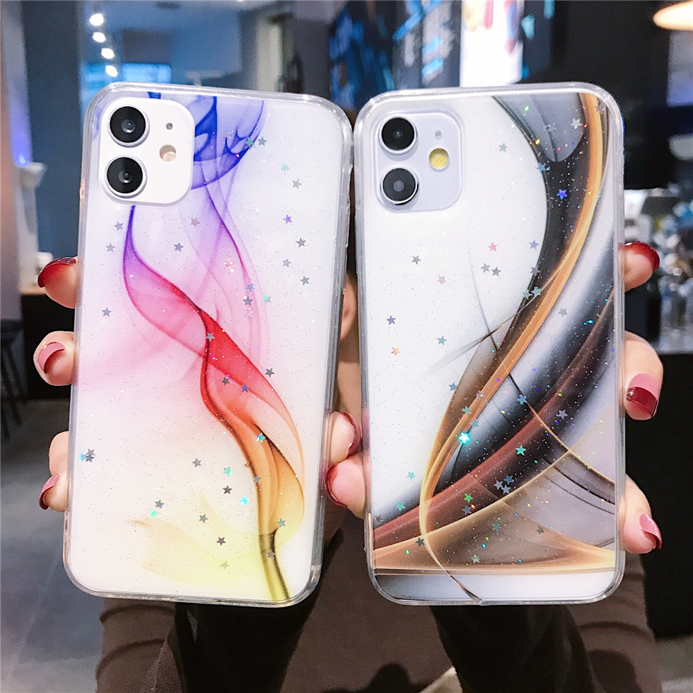Case For Xiaomi Redmi Note 9S 8T 8 7 Cover Colorful Stars Soft Case Redmi K20 Pro K30 For Xiaomi Mi 9 A3 Lite Note10