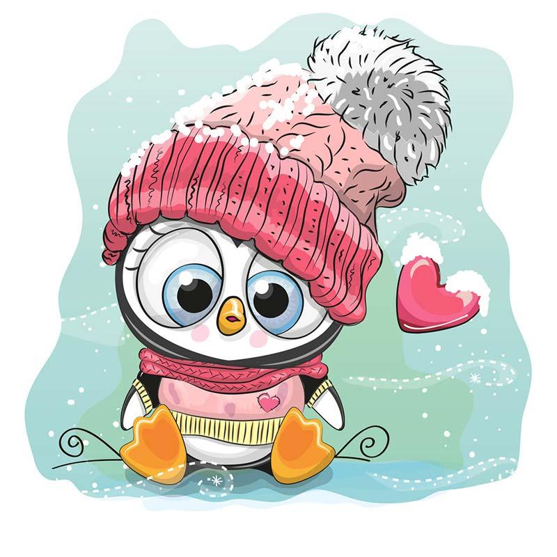 merry christmas dies cute cartoon penguin metal cutting dies Christmas font b pet b font paper