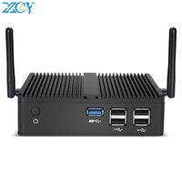XCY X30 Mini PC Intel Celeron J1900 Windows Linux Quad Cores Micro Desktop Computer Fanless VGA HDMI WiFi Gigabit LAN 5*USB HTPC|Mini PC|Computer & Office -