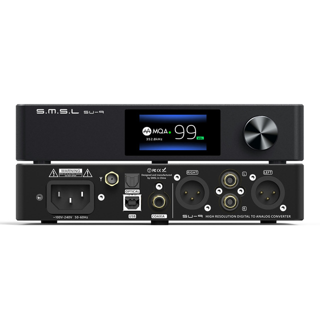 SMSL SU-9 MQA Audio DAC Bluetooth 1
