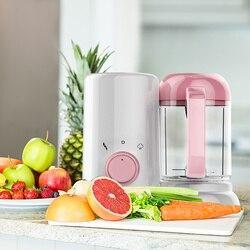Batidora de Cocina eléctrica para alimentos de bebés recién nacidos, procesador de vapor sin BPA, máquina mezcladora de frutas y verduras para niños