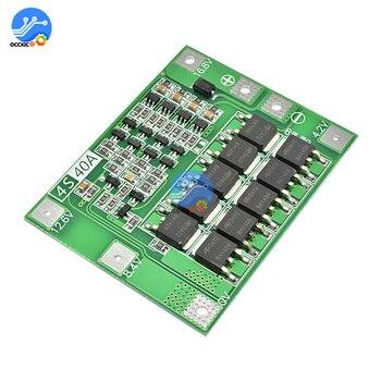 BMS 3S 4S 25A 30A 40A 60A Li-Ion Lithium-Batterie Ladegerät Schutz Bord DIY kit Verbessern/Balance für 14,8 V 16,8 V Bohrer motor