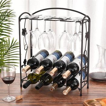 Wine Organizers Display Glass Holder Metal Bottle Rack Stand Bottle Storage Wine Organizer Wine Rack Wine Collection недорого