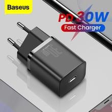 """Baseus פ""""ד מטען 30W USB סוג C מהיר מטען QC3.0 USB C טעינה מהירה 3.0 טלפון תשלום עבור iPhone 12 X Xs 8 Macbook"""