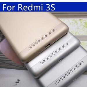 Image 5 - 3S סוללה חזרה כיסוי עבור Xiaomi Redmi 3 חזור סוללה דלת אחורי שיכון כיסוי עבור Redmi 3S מקרה מארז פגז החלפה