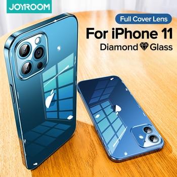 Стеклянный чехол Joyroom 9H для iPhone 11, 12 Pro Max 1