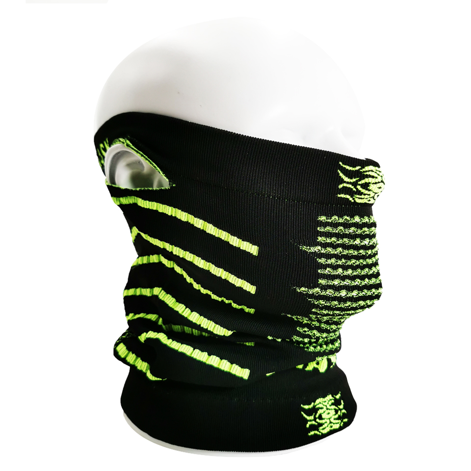 LOCLE Outdoor Cotton Skiing Mask Sport Cycling Mask Winter Warm Ski Bib Ski Mask Half Face Mask For Cycling Riding