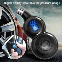 Auto Reifen Druck Monitor Hohe Präzision Digital Display Barometer Elektronische Digitale Vent Gas Reifen Manometer auf