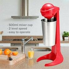 цена Electric Stainless Steel Double-head Milkshake Machine, Coffee Frother, Milk Mixer онлайн в 2017 году