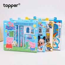 Cartoon pencil set school supplies children birthday gift prize creative stationery packaging
